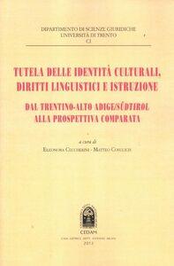 Foto Cover di Tutela delle identità culturali, diritti linguistici e istruzione. Dal Trentino-Alto Adige Sudtirol alla prospettiva comparata, Libro di  edito da CEDAM