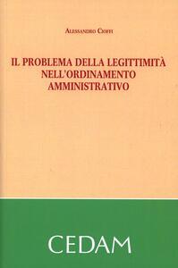 Il problema della legittimità nell'ordinamento amministrativo