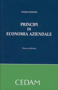 Principi di economia aziendale - Paolo Bastia - copertina