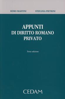 Equilibrifestival.it Appunti di diritto romano privato Image