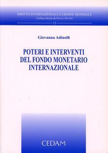 Warholgenova.it Poteri e interventi del fondo monetario internazionale Image