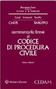 Libro Commentario breve al codice di procedura civile Federico Carpi , Michele Taruffo