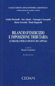 Foto Cover di Bilancio d'esercizio e imposizione tributaria. Le regole per le società di capitali, Libro di  edito da CEDAM