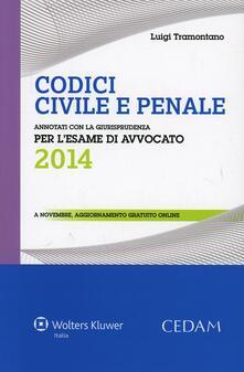 Winniearcher.com Codici civile e penale. Annotati con la giurisprudenza per l'esame di avvocato 2014 Image