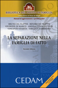 Libro La separazione nella famiglia di fatto