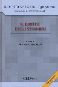 Foto Cover di Il diritto degli stranieri, Libro di  edito da CEDAM