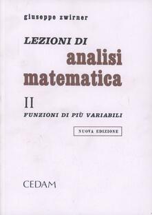 Lezioni di analisi matematica. Vol. 2: Funzioni di più variabili..pdf