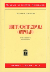 Diritto costituzionale comparato - De Vergottini Giuseppe - wuz.it