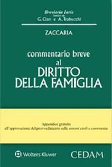 Criticalwinenotav.it Commentario breve al diritto della famiglia Image