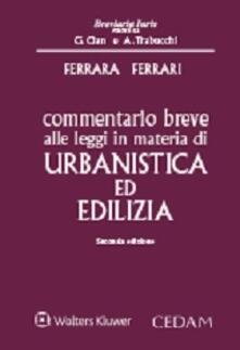 Fondazionesergioperlamusica.it Commentario breve alle leggi in materia di urbanistica ed edilizia Image