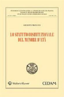 Rallydeicolliscaligeri.it Lo statuto costituzionale del minore d'età Image