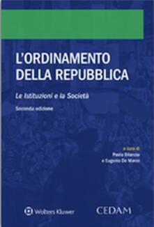 L ordinamento della Repubblica. Le istituzioni e la società.pdf
