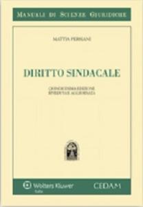 Libro Diritto sindacale Mattia Persiani