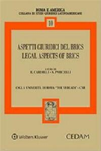 Aspetti giuridici del brics-Legal aspects of brics. Ediz. bilingue - copertina