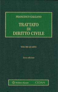 Trattato di diritto civile. Vol. 4
