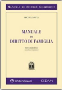 Libro Manuale di diritto di famiglia Michele Sesta