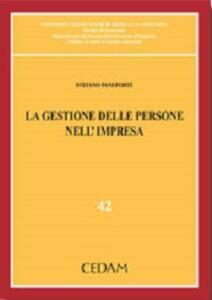 La gestione delle persone nelle organizzazioni - Stefano Paneforte - copertina