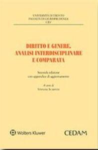 Foto Cover di Diritto e genere. Analisi interdisciplinare e comparata, Libro di  edito da CEDAM