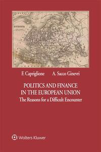 Politics and Finance in the European Union