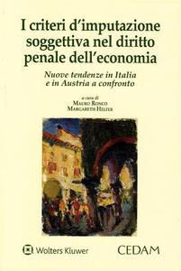 I criteri d'imputazione soggettiva nel diritto penale dell'economia
