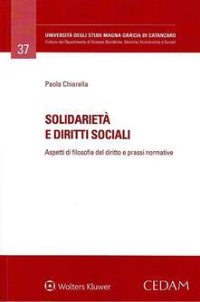 Mercatinidinataletorino.it Solidarietà e diritti sociali. Aspetti di filosofia del diritto e prassi normative Image