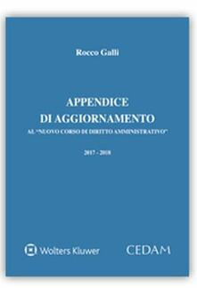 Rallydeicolliscaligeri.it Appendice di aggiornamento al «Nuovo corso di diritto amministrativo» 2017-2018 Image