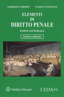 Secchiarapita.it Elementi di diritto penale. Parte generale Image