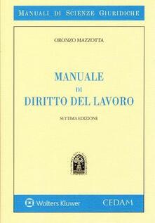 Grandtoureventi.it Manuale di diritto del lavoro Image