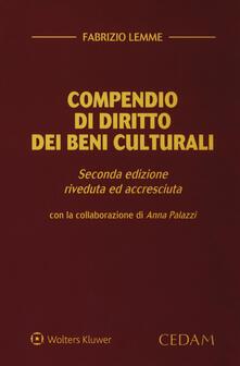 Daddyswing.es Compendio di diritto dei beni culturali. Ediz. ampliata Image