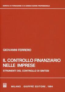 Il controllo finanziario nelle imprese. Strumenti del controllo di sintesi