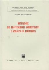 Motivazione dei provvedimenti amministrativi e sindacato di legittimità