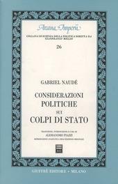 Considerazioni politiche sui colpi di Stato