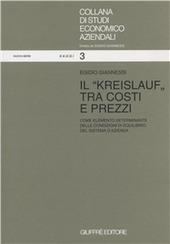 Il kreislauf tra costi e prezzi come elemento determinante delle condizioni di equilibrio del sistema di azienda