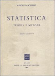 Statistica. Teoria e metodi