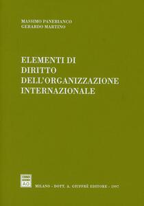 Elementi di diritto dell'organizzazione internazionale