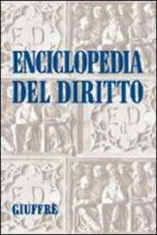 Enciclopedia del diritto. Vol. 2