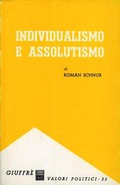Individualismo e assolutismo