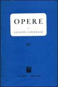 Opere. Vol. 4