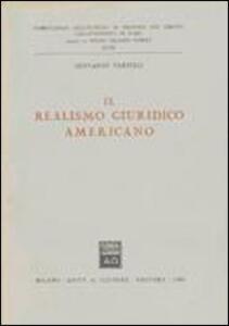 Il realismo giuridico americano