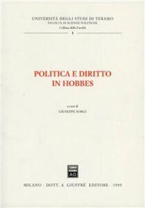 Libro Politica e diritto in Hobbes
