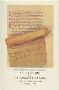 Alle origini del notariato italiano