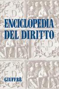 Enciclopedia del diritto. Indice delle fonti - copertina