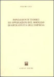Fondamenti teorici ed applicazioni del modello di operatività dell'impresa