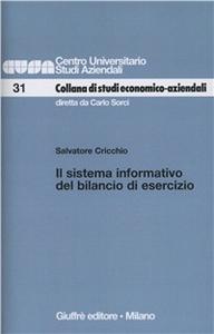 Libro Il sistema informativo del bilancio di esercizio Salvatore Cricchio