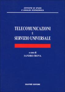 Telecomunicazioni e servizio universale - copertina