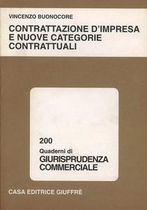 Libro Contrattazione d'impresa e nuove categorie contrattuali Vincenzo Buonocore
