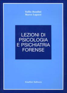 Camfeed.it Lezioni di psicologia e psichiatria forense Image
