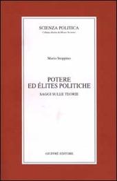 Potere ed élites politiche. Saggi sulle teorie