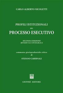 Profili istituzionali del processo esecutivo
