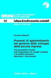 Processi di apprendimento nel governo dello sviluppo della piccola impresa. Una prospettiva basata sull'integrazione tra modelli contabili... Con CD-ROM